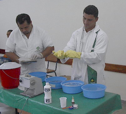 Clinic Employees Scrub